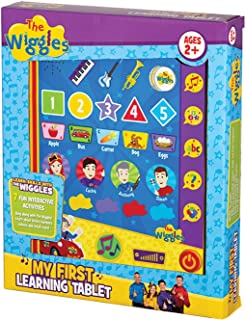 The Wiggles Toys My First Learning Tablet, Educational Toys for Toddlers, from Popular Kids Music Band The Wiggles