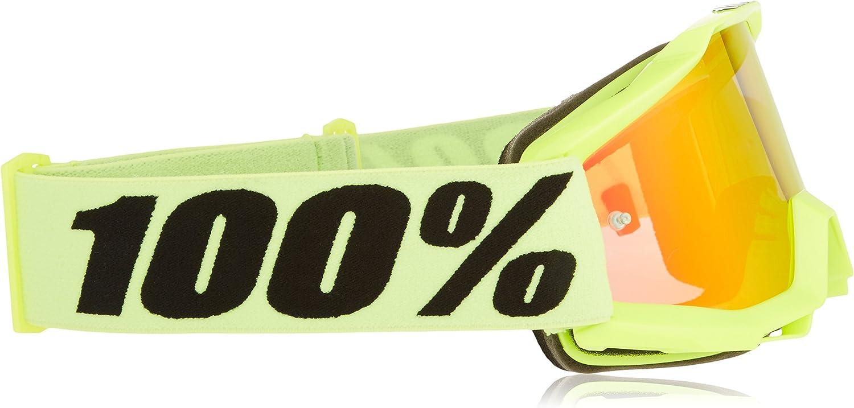 Ecran Miroir Rouge 100/% Masque VTT Accuri Youth Fluo