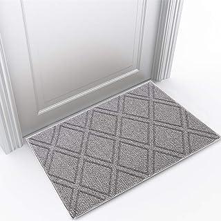 Indoor Doormat Front Door Mat Non Slip Rubber Back Door Mats Magic Inside Dirt Trapper Entry Rugs Entrance Door Rug Machin...