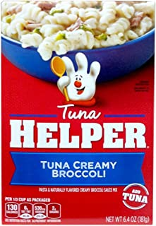 Betty Crocker TUNA CREAMY BROCCOLI Tuna Helper 6.4oz (3 Pack)