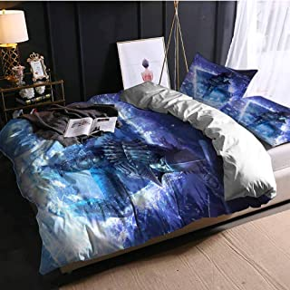 SCGOLD Full Size Bed Sheets Set nithral gwent The Witcher Card Game sd Full Bed Sheets and Comforter Set