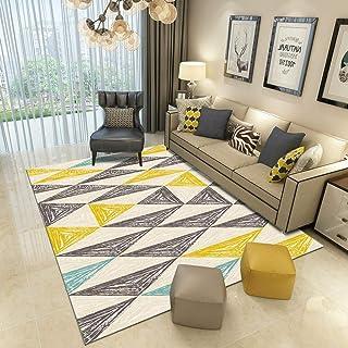 Amazon.fr : tapis blanc chambre - Jaune