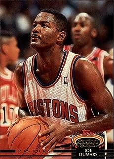 1992 Stadium Club Basketball Card (1992-93) #386 Joe Dumars