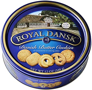 Danish Cookie Selection, No Preservatives or Coloring Added, 12 Ounce
