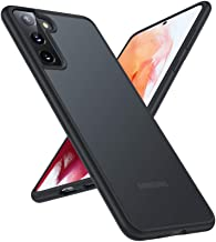 TORRAS Shockproof Designed for Samsung Galaxy S21+ Plus Case 6.7'' [6FT Military Drop Protection] [Semi-Clear] Matte Hard Back & Soft Edge Slim Galaxy S21+ Plus Case 5G Guardian Series, Frost Black