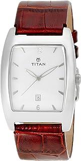 Titan Classique Analog White Dial Men's Watch -NK9171SL01 / NK9171SL01