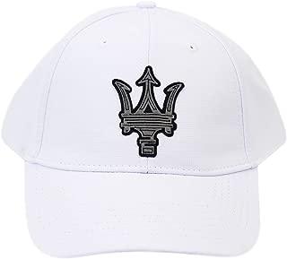Maserati Classic Trident Hat White