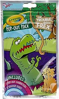 Crayola - T-Rex Dinosaur Pop-Out Pack