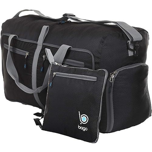 Bago Duffle Bag For Travel Luggage Gym Sport Camping - Lightweight Foldable  Into Itself Duffel 27 dcef5f3b10