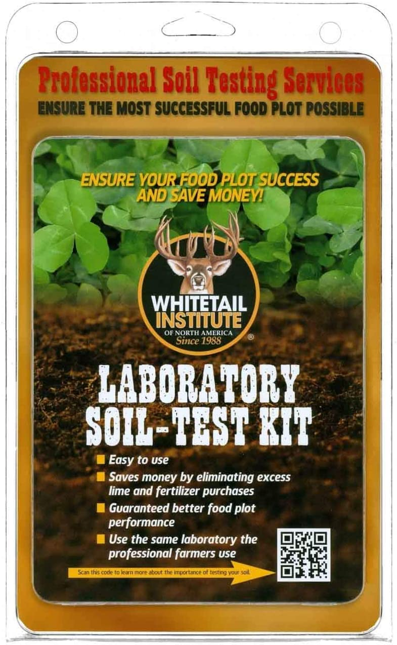 Whitetail Institute Laboratory Soil discount Test 12 of Kit Carton Max 65% OFF
