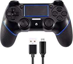 $34 » PS4 Controller Wireless Gamepad Dualshock for Playstation 4 with Dual Vibration, Compatible with PS4/PS4 Pro & PC