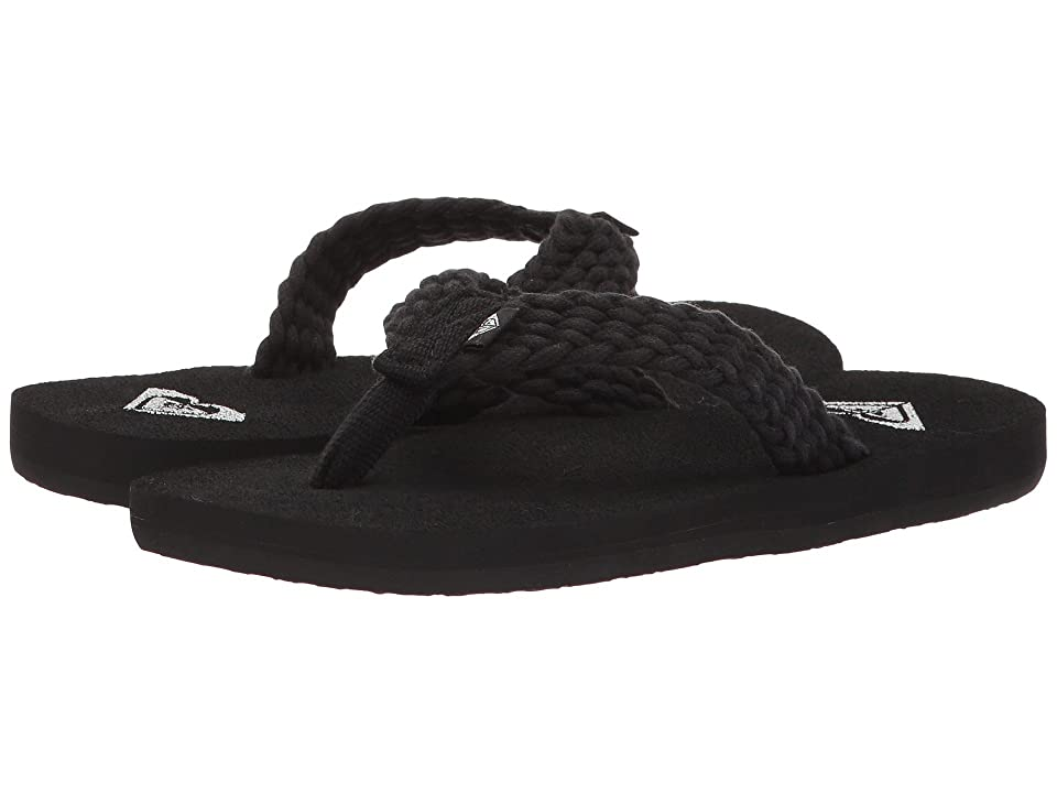 Roxy Kids Porto (Little Kid/Big Kid) (Black) Girls Shoes