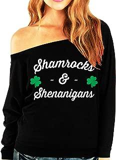 Shamrocks & Shenanigans ST. Patrick's Day Slouchy Shirt