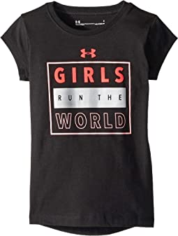 Girls Run The World Short Sleeve (Little Kids)