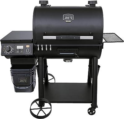 Oklahoma Joe's 20202106 Rider Deluxe Pellet Grill, Black