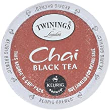 Twinings of London Single Serve K-Cup, Chai Tea, 24 Count (Pack of 2)