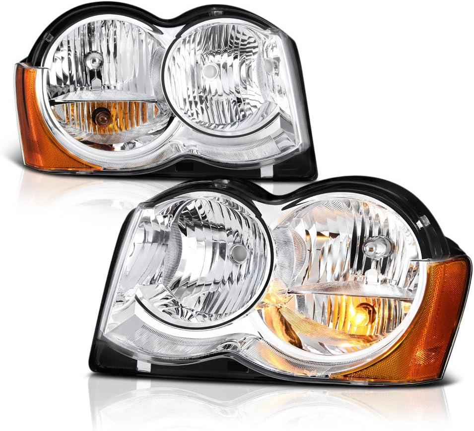 当店一番人気 VIPMOTOZ Chrome Housing お見舞い OE-Style Headlight Headlamp Assembly For