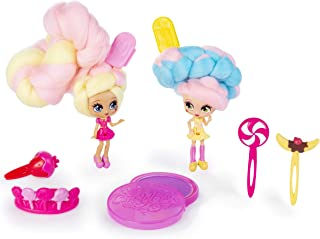 Candylocks BFF 2 Pack, 3-Inch Kerry Berry & Beau Nana, Scented Collectible Dolls with Accessories