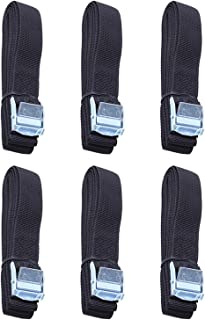 XYXYMY 6Pcs Kayak Roof Rack Lashing Straps with Buckle FIT for Boat Bike Motor Cargo Tie Down Car Roof Rack Luggage Kayak ...