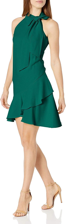 Vince Camuto Women's Bow Neck Dress