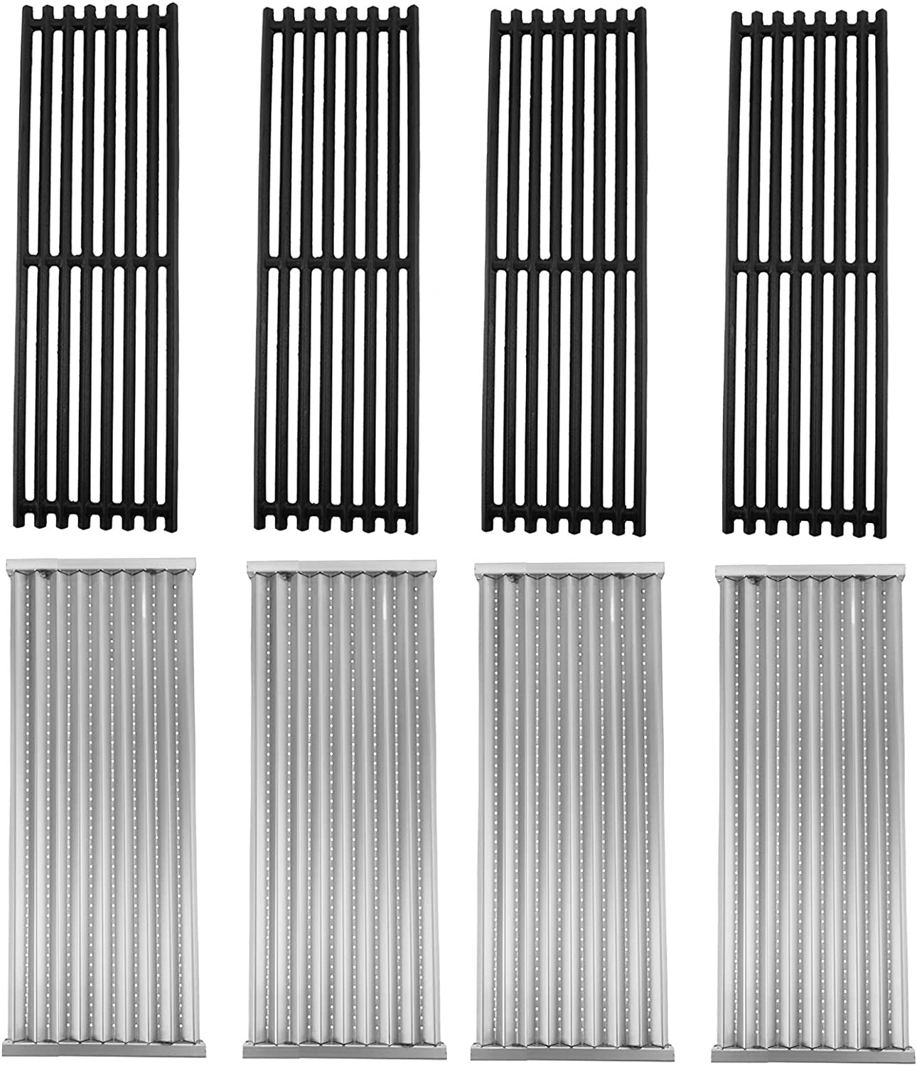 BBQ Future 4 Pack Grill Grate and Emitter Replacement Parts for ...