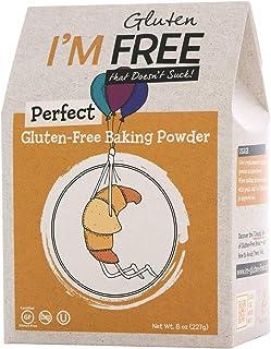 I'm Free Perfect Gluten Free Baking Powder/Vegan/Non GMO/OU Kosher Certified, 8 oz.