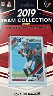 Houston Texans 2019 Donruss Factory Sealed 8 Card Team Set with Deshaun Watson and JJ Watt Plus a Lonnie Johnson Rookie Card and 5 Other Players