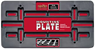 Cruiser Accessories 79150 Mounting Plate, Black