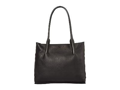 Hammitt Oliver Zip (Black/Gunmetal) Handbags