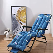 LINGXIYA Zacht comfortabel fauteuilkussen, 8 cm dikke katoenen ligkussens, praktisch stoelkussen met antislipband, tuinter...