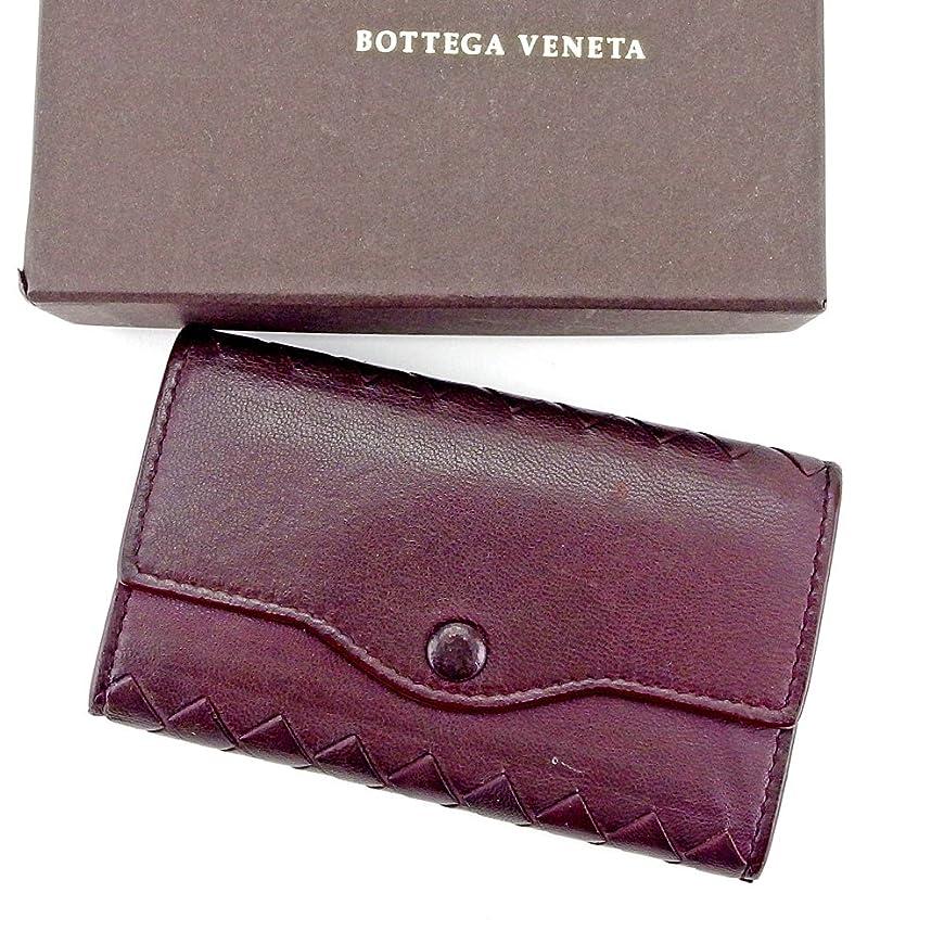 集まるグリースフィード(ボッテガ ヴェネタ) Bottega Veneta キーケース 6連キーケース ブラウン系 イントレチャート レディース メンズ 可 中古 L2016
