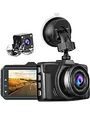 【2019年の最新版/前後カメラ】 chortauドライブレコーダー 2カメラ 3.0インチ 1080PフルHD 170度広角 SONYセンサー/レンズ 常時録画 駐車監視 G-sensor WDR