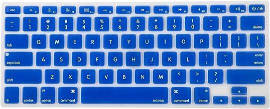 جلد صفحه کلید سیلیکونی MOSISO سازگار با MacBook Pro 13/15 اینچ (با / بدون صفحه نمایش شبکیه چشم ، 2015 یا نسخه قدیمی تر) ، MacBook Air 13 اینچ قدیمی تر (A1466 / A1369 ، انتشار 2010-2017) ، رویال آبی