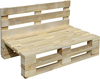 comprar comparacion Sofa PALETS Lijado Y Cepillado - Medida 120cm X 60cm -Interior/Exterior Nuevo-Natural Sillon PALETS