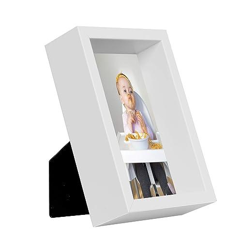 10 x 15 cm Box Cadre Photo, Blanc