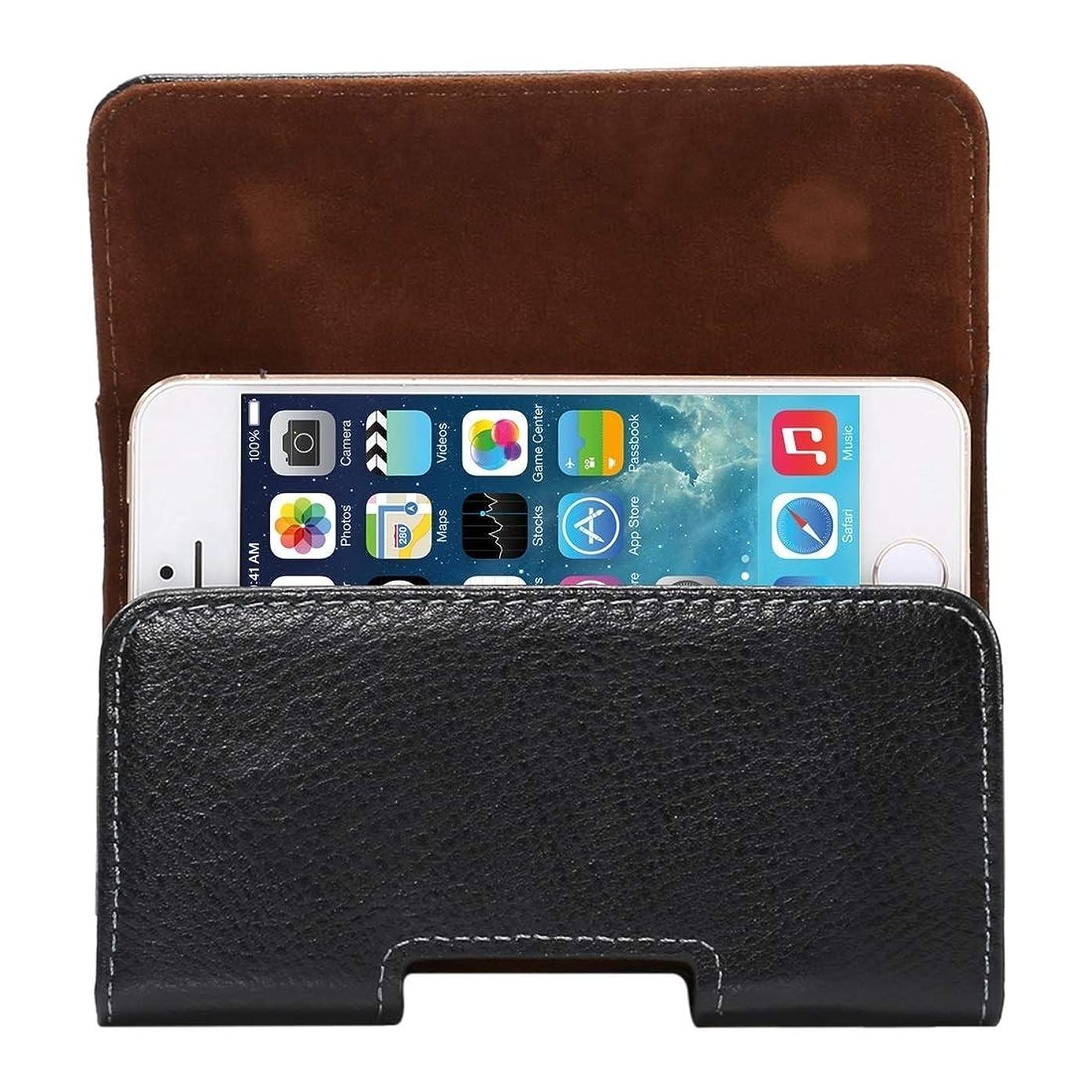 私自信があるいわゆるIPhone SE&5s&5&4Sなどの回転可能なバックスプリント付きの良い4インチLitchiテクスチャ垂直フリップThwartwise本革ケース/ウエストバッグなど Yikaja