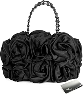 Best satin rose purse Reviews
