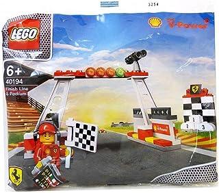 レゴ シェル限定 フェラーリ レース ゴール 表彰台 shell lego