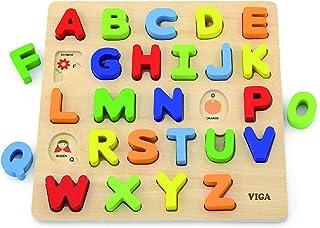 Alphabet Block Puzzle - Uppercase Letters