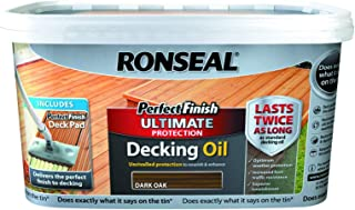 Ronseal Ultimate Protection Perfect Finish Decking Oil Dark Oak 2.5L