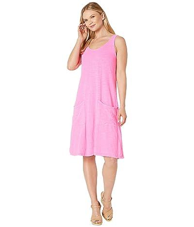 Fresh Produce Drape Dress (Flamingo Pink) Women