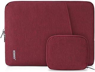 laptoptasche 14 zoll damen NEWHEY Laptophülle 14 Zoll Stoßfest Laptop Notebook Tasche Hülle Wasserdicht Schutzhülle Sleeve Case Kompatibel 13-14 mit Klein Fall Rot