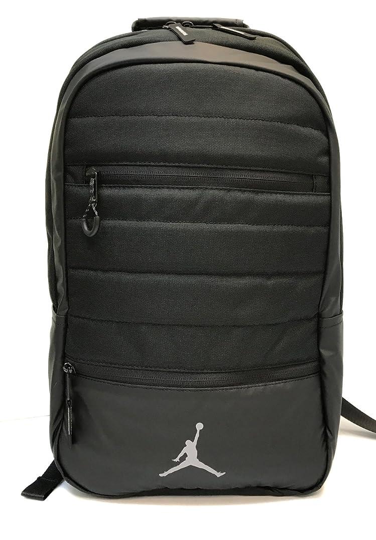 阻害する無駄だスマート(ジョーダン) Jordan バックパック デイパック Jordan AirBorne Backpack Blk BCKPK バスケットボール ストリート Free