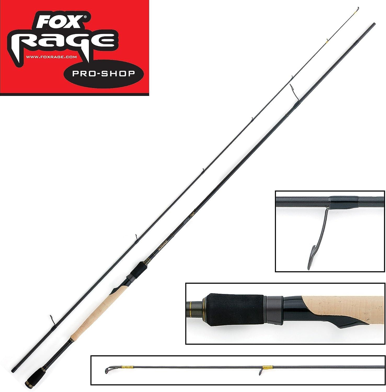 Fox Rage Terminator Pro Dropshot 210cm 4-17g Spinnrute , Rute für Dropshot Montage, Dropshotrute, Angelrute zum Spinnfischen, Spinnangeln, Rute zum Angeln auf Raubfische, Kunstkderrute, Forellenrute, Barschrute, Zanderrute, Hechtrute