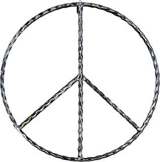 Old River Outdoors Large Metal Peace Sign Wall Decor Art - 16