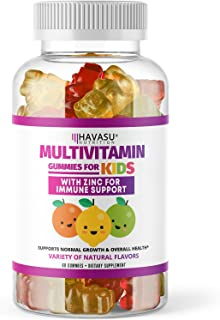 Havasu Nutrition Multivitamin Gummies for Men and Women with Vitamin A, C, D3, E, B6,..