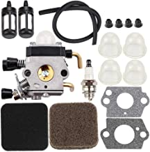 Dxent C1Q-S186 C1Q-S97 Carburetor with Air Filter Repower Kit for STIHL FS72 FS74 FS75 FS76 FS80 FS80R FS85 FS85R FS85T FS85RX String Trimmer Weedeater