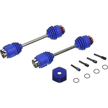 Traxxas 5451R Steel Driveshafts//Drive Shafts w//OptiDrive CVD:1//10 Revo,T-Maxx3.3
