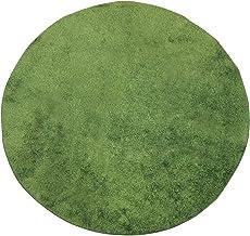 スイデコ 芝生調のラグ (180cm円形) グリーン