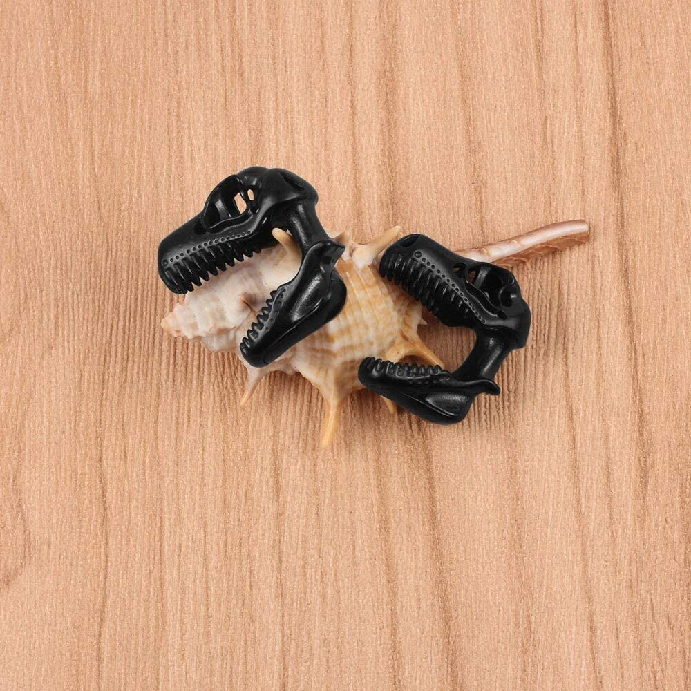 Casvort 2 PCS Ear Hanger Weight Stainless Steel Dinosaur Ear Gauges 00g Body Jewelry Piercing Plug Pair Selling 10mm